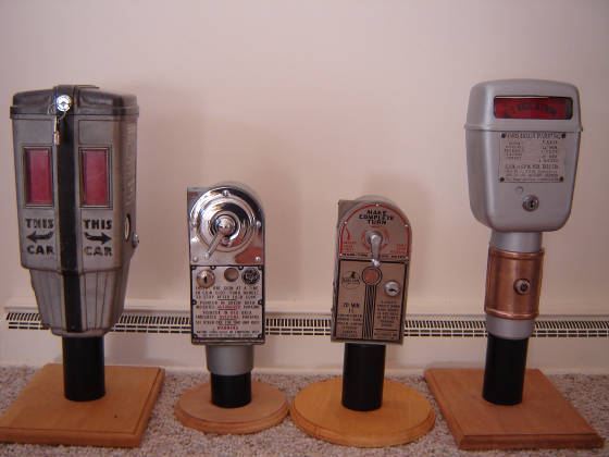 1957 Chevy Truck For Sale >> Parking Meter Collection
